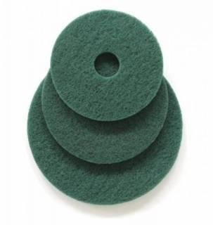 Disco de Limpeza Verde para Enceradeira (pisos sem tratamento) 410mm | TORQUE SUL