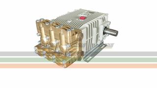 Bomba Triplex Alta Pressão - Bertolini CPQ 1316 - 125 l./min | 160 BAR | 1000 RPM | TORQUE SUL