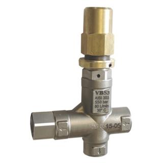 Válvula By Pass VB 53 - AISI 303 - INOX | 500BAR | 801l/min. | TORQUE SUL